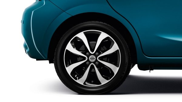 "Nissan Micra Pacific Blue - 16"" alloy wheel"