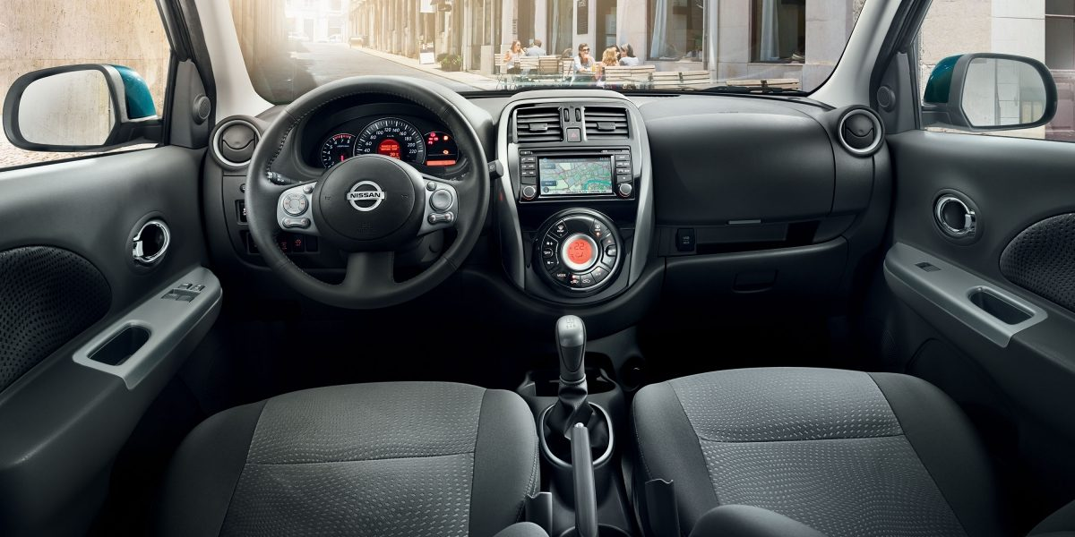 Nissan Micra - Interior view
