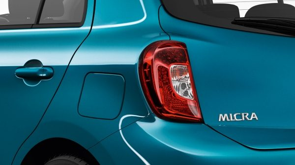 Nissan Micra Pacific Blue - Front head lamps