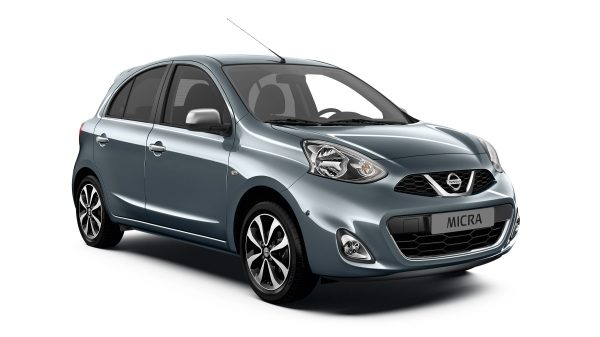 Nissan Micra n-tec - 3/4 front view
