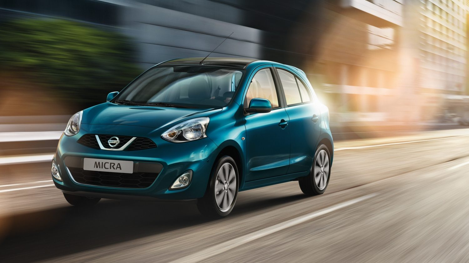 NISSAN MICRA Pacific Blue – Stadtautos