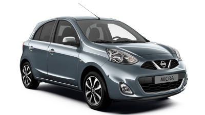 Nissan Micra Visia - 3/4 front view