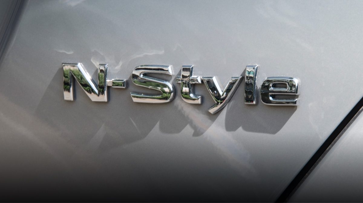 NISSAN MICRA N-Style gros plan sur le badge N-Style