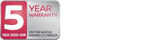 Nissan LCV 5 year warranty logo