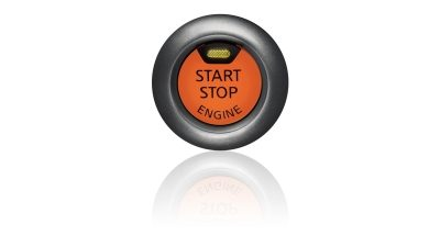 Nissan Navara start and stop button