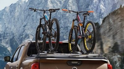 Nissan Navara bike carrier luxury