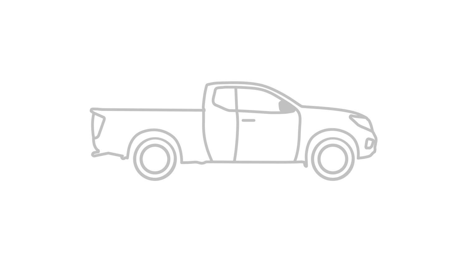 Illustration d'une King Cabine Nissan NAVARA