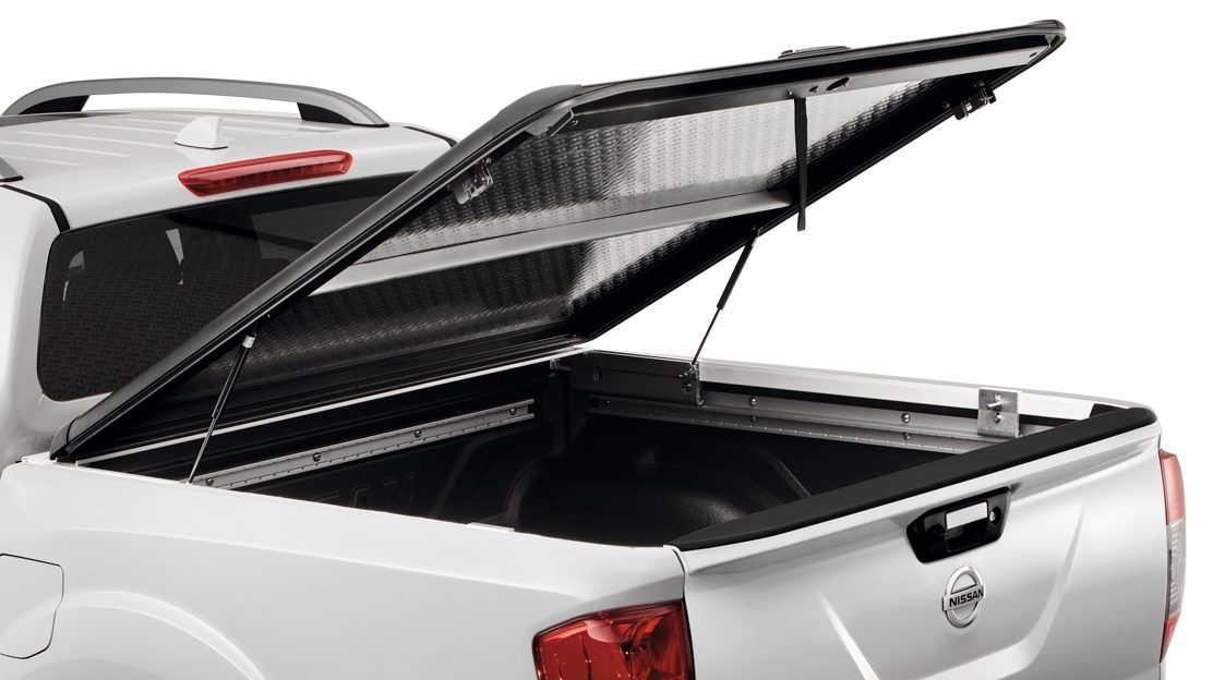 Couvre-benne aluminium double cabine Nissan NAVARA
