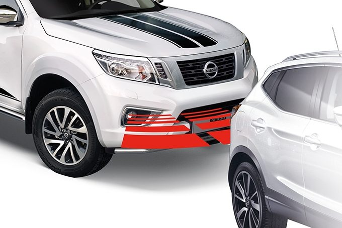 Nissan NP300 Navara Double Cab - Safety - Front parking system