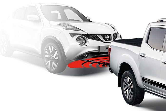 Nissan NP300 Navara Double Cab - Safety - Rear parking system
