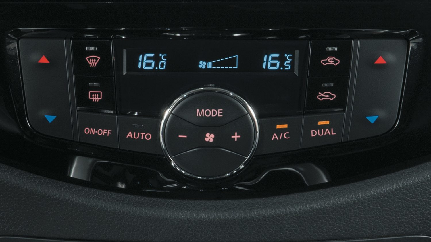 Nissan NP300 Navara - Climate control system