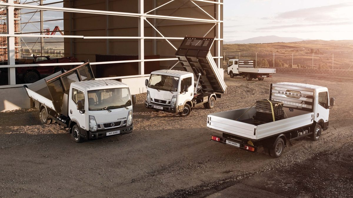 Nissan NT400 Cabstar - Three different 'Business Ready' conversions