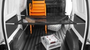 Nissan NV200 - Interior - System bars for multi-partition net