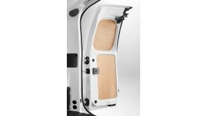 Nissan NV200 - Interior - French doors wood protection