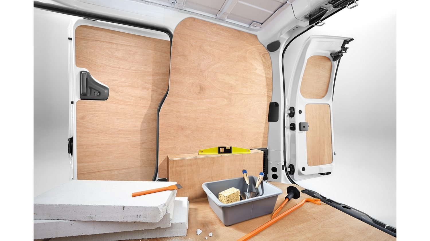 Nissan NV200 - Interior - Full kit wood protection for French doors