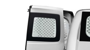 Nissan NV200 - Interior - French doors protection grille