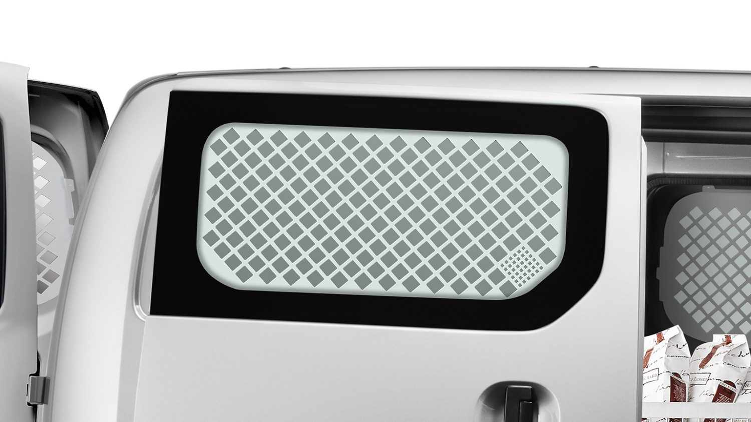 Nissan NV200 - Interior - Sliding door protection grille