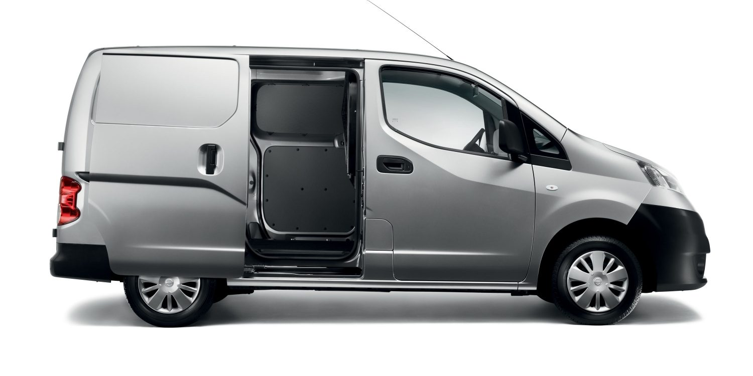 Nissan NV200 - Profile Cutaway Showing Interior