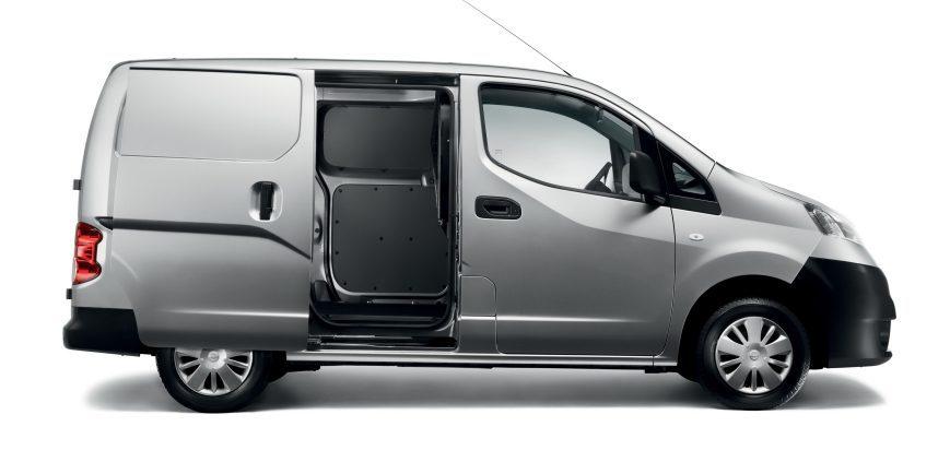 Nissan NV200 - Coupe de profil montrant l intérieur e5fc8439b5e