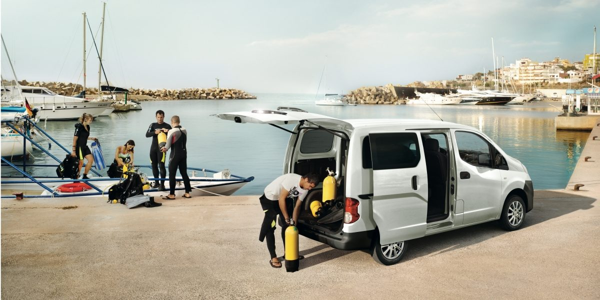 NISSAN NV200 -  Versatility for work and play