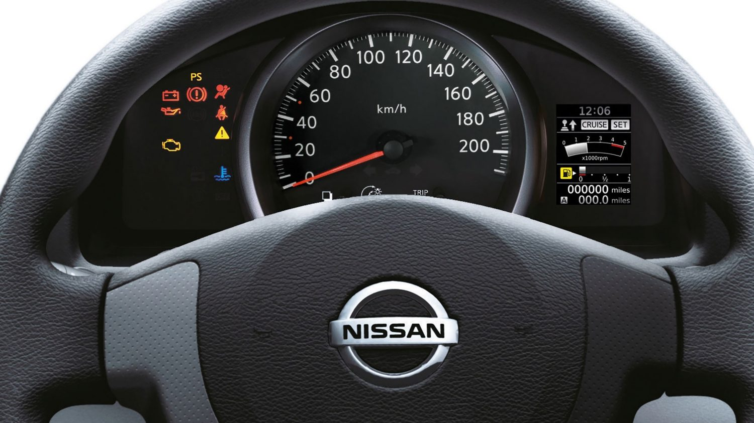 Nissan NV200 - Steering wheel