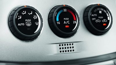 Nissan NV200 - Climate Control Detail