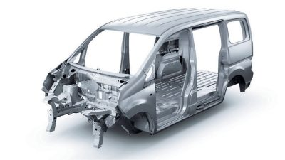 Nissan NV200 - Centre structure
