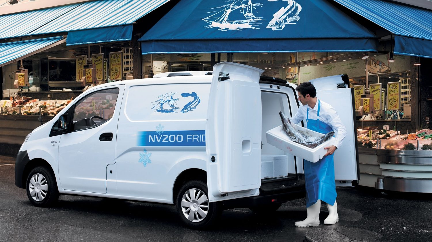 Nissan NV200 - Refrigerated conversion