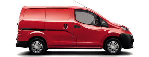 Nissan NV200 Van - side view