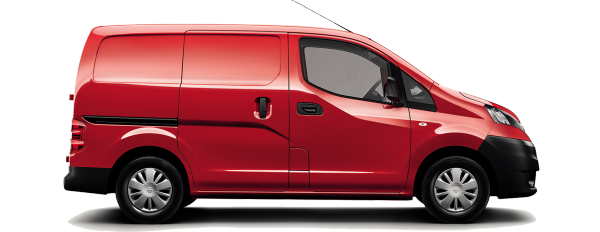 Nissan NV200 - Side view
