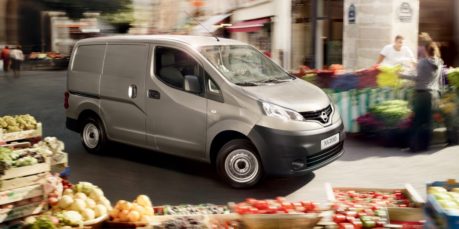 Nissan NV200 - Photo dans un parking