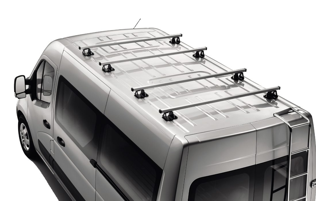 Nissan NV400 - Transportation - Crossbars roofrailing