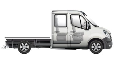 Nissan NV400 - Side view of the chassis