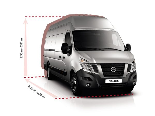 Nissan NV400 - Question of lenght