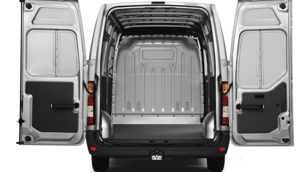 Nissan NV400 - Two rear door wide open