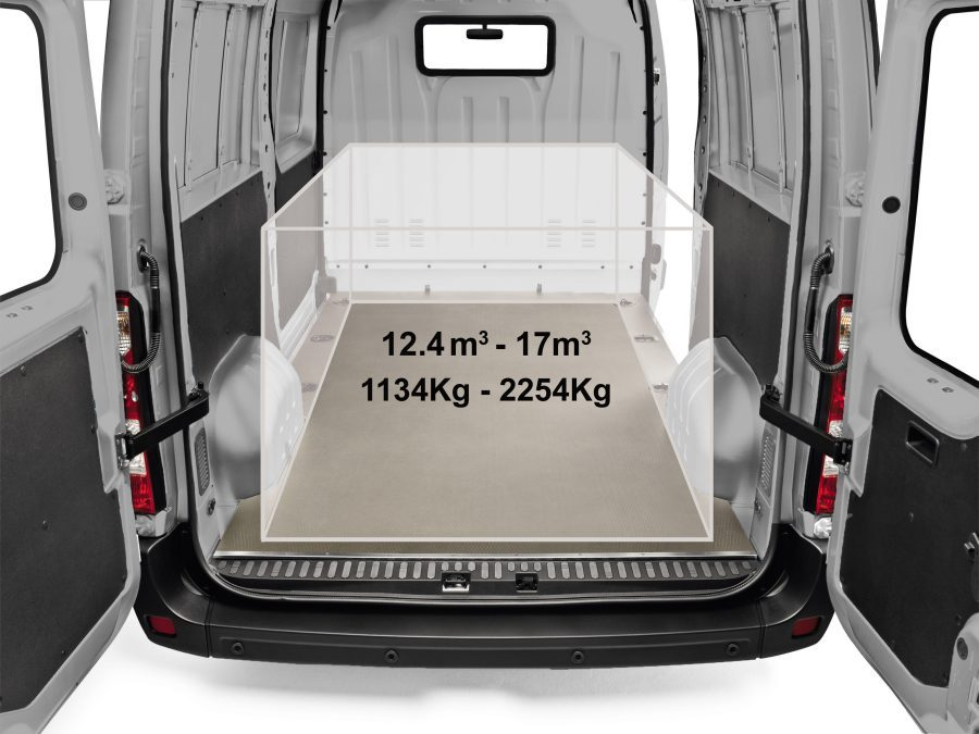 Nissan NV400 - Load area for better payload distribution