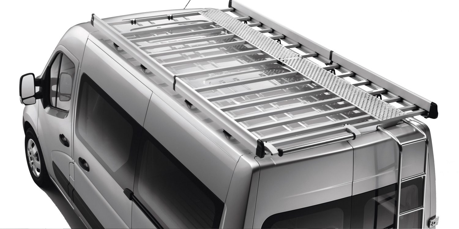 Nissan NV400 - Optional aluminium roof rack