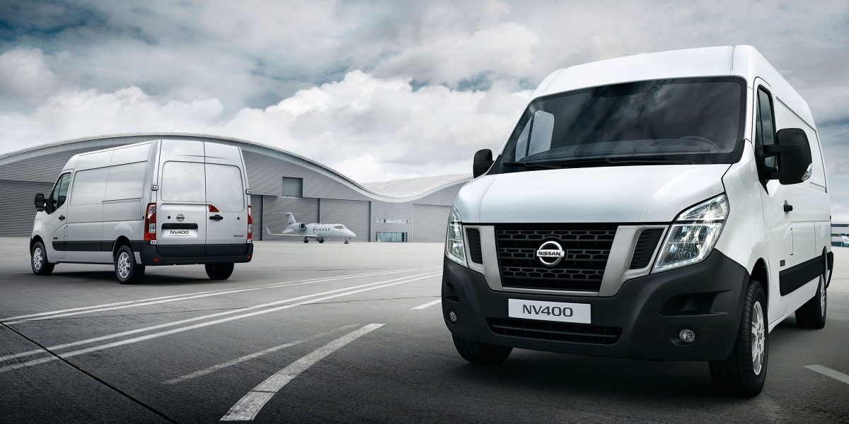 Nissan NV400 – Pearl White