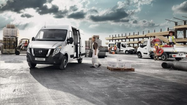 Nissan NV400 – In un cantiere