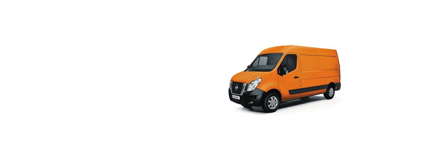 Nissan NV400 - Orange