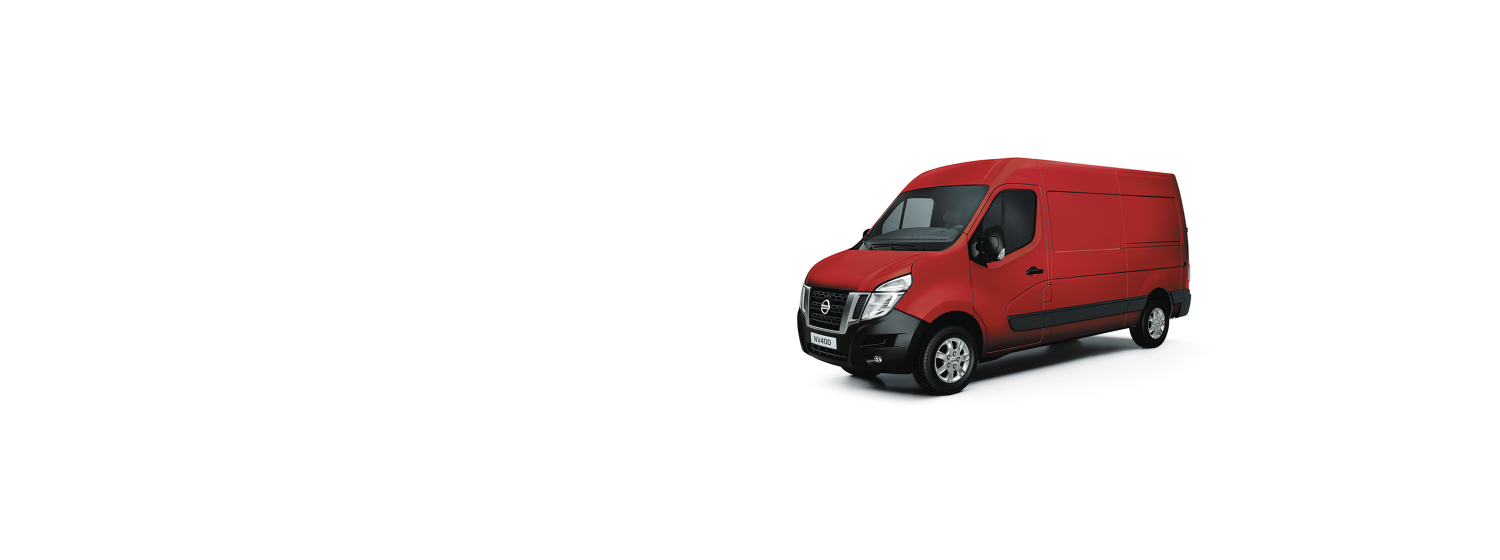 Nissan NV400 - Bright Red