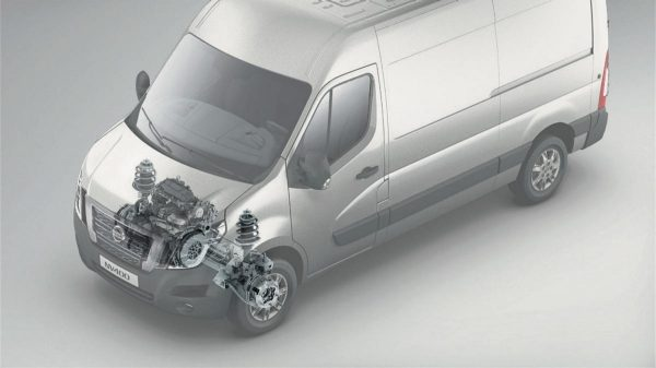 Nissan NV400 - Front-wheel drive