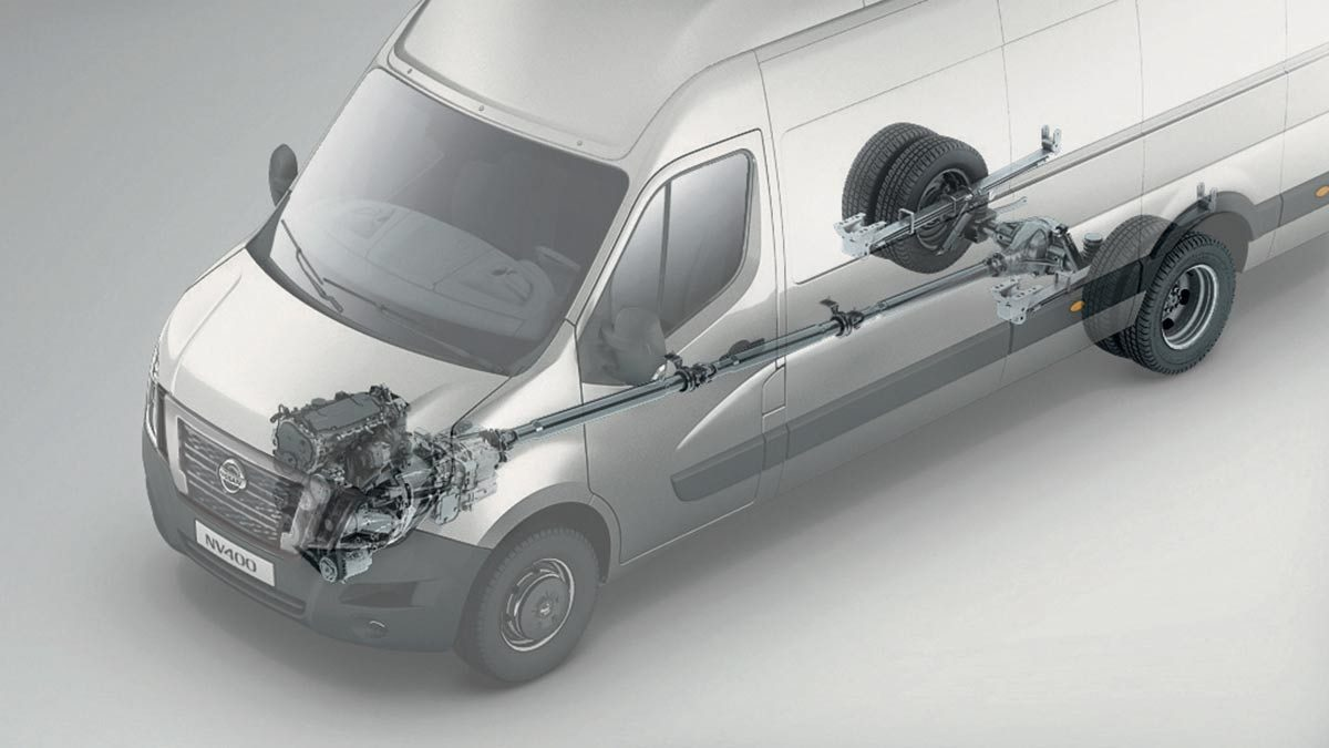 Nissan NV400 - Propulsion