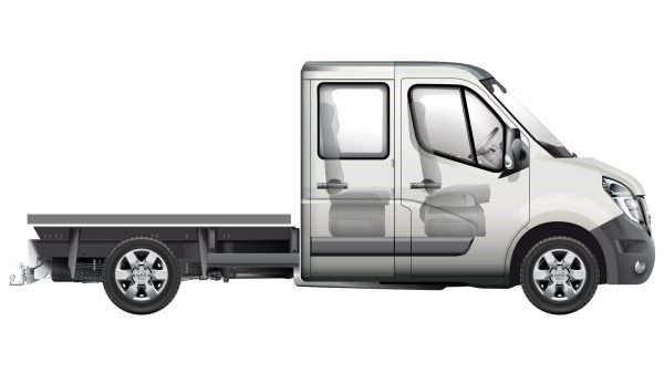 Nissan NV400 Chassis Comfort - 3/4 front view