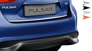 Nissan Pulsar hatchback - Trunk lower finisher london white