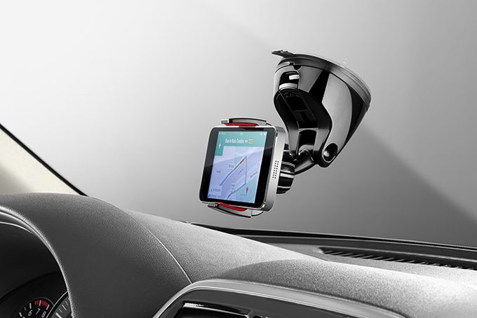 Nissan Pulsar hatchback - Smart phone holder 360 GRIP BLACK