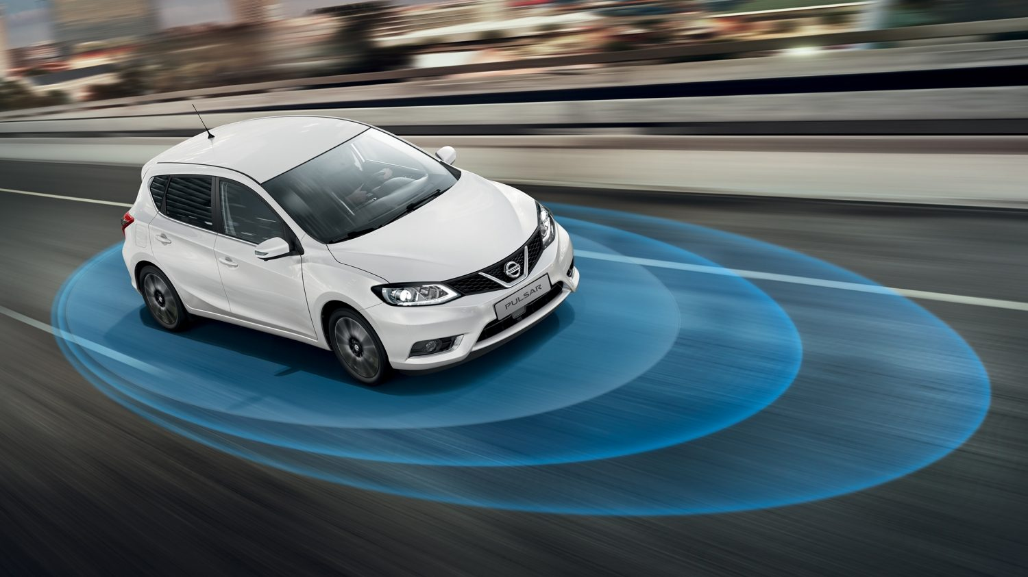 PULSAR N-Vision con Nissan Safety Shield di serie