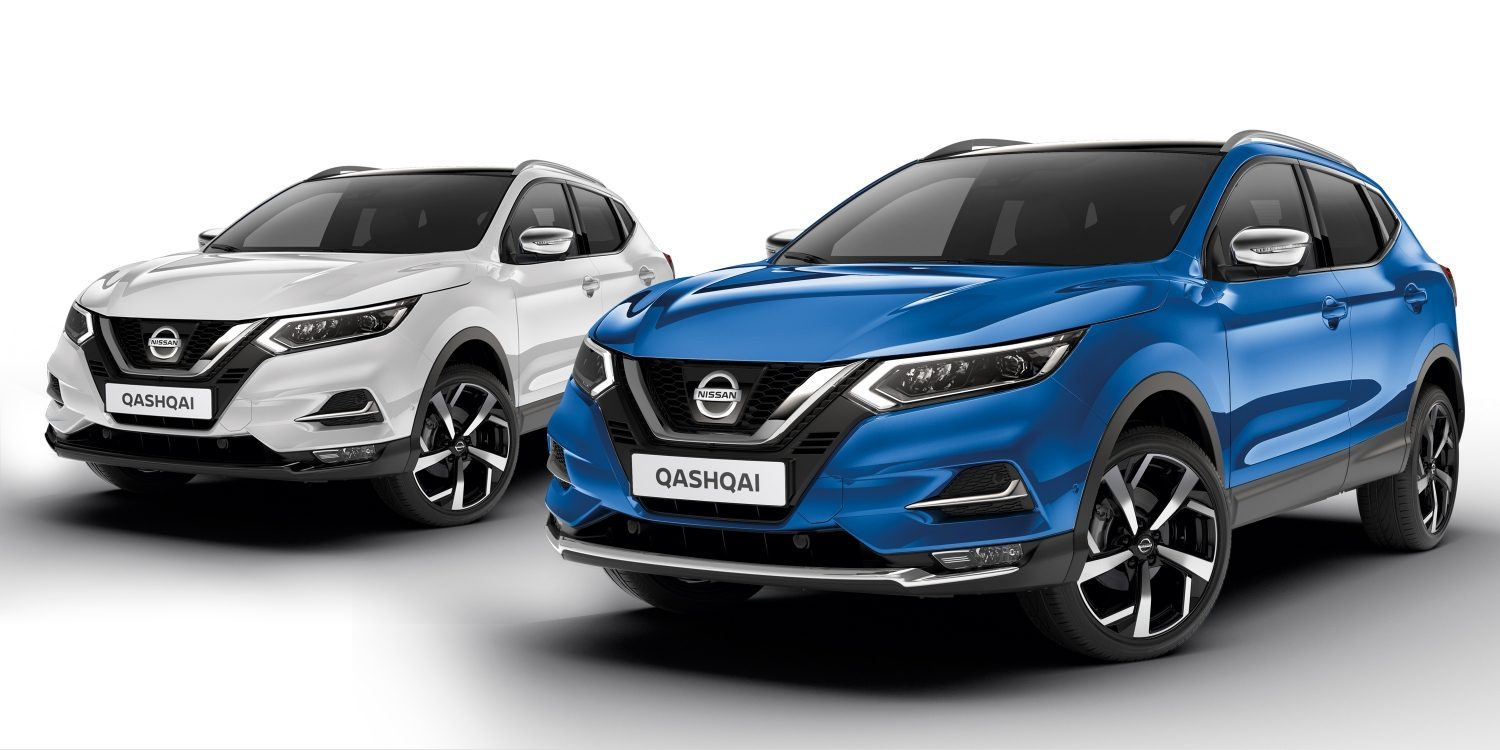 qashqai elegance packs chrome & black