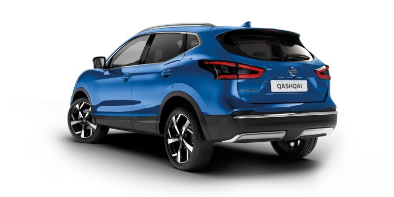 NISSAN QASHQAI Eleganz Paket in Chrom-Optik