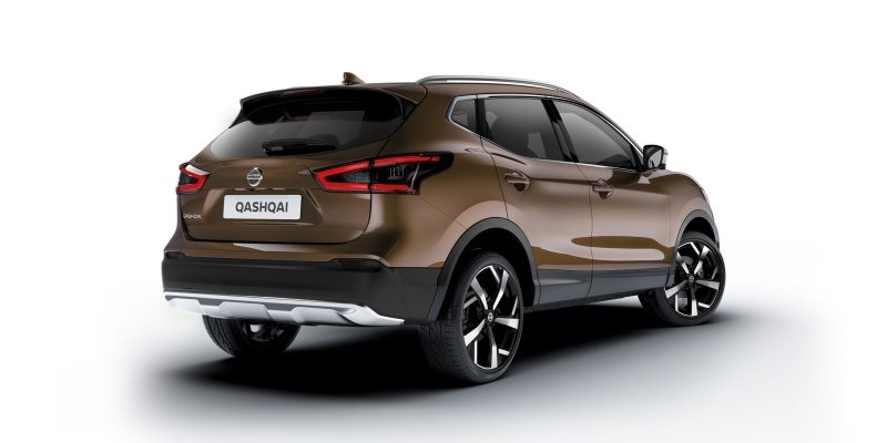 NISSAN QASHQAI Crossover Paket in Chrom-Optik
